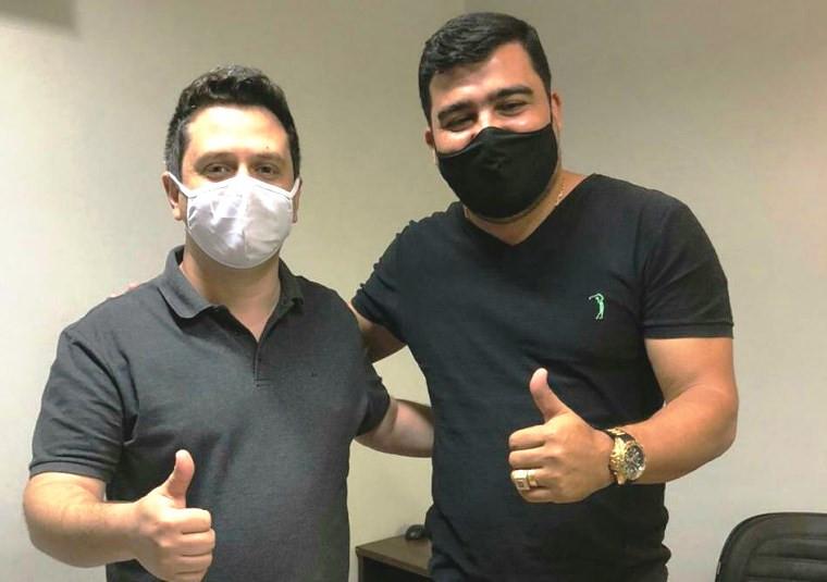 Tiago Dimas e Júnior Martins