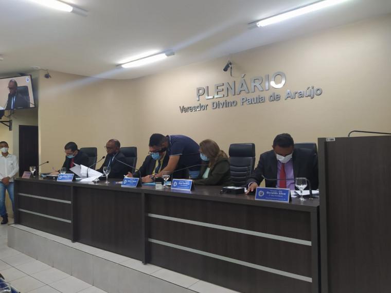 Mesa Diretora da Câmara de Araguaína