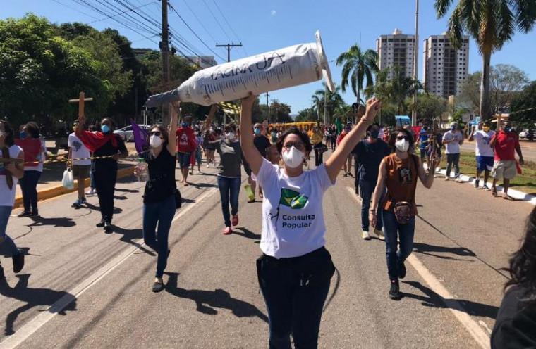 Primeira manifestação nacional ocorreu em 17 de maio