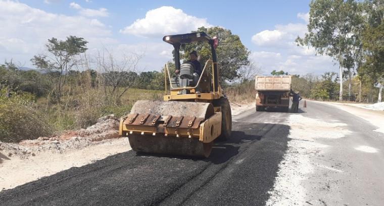Os trabalhos estão acontecendo de forma simultânea em várias rodovias