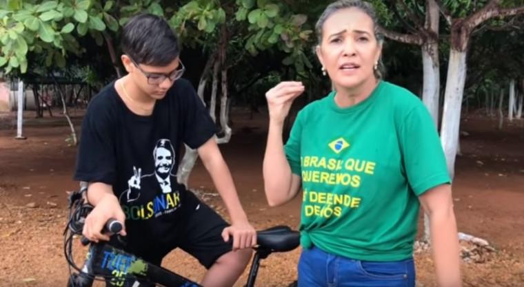 Mãe relata agressão do filho