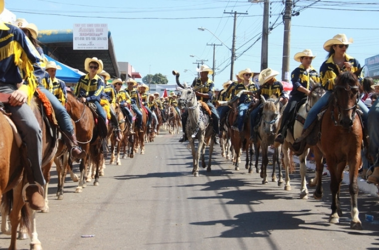 Cavalgada só com autorização