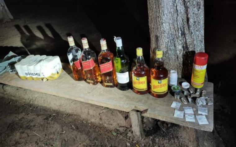 Bebidas e drogas