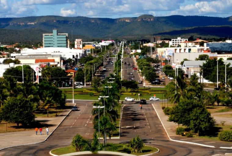 Avenida JK em Palmas