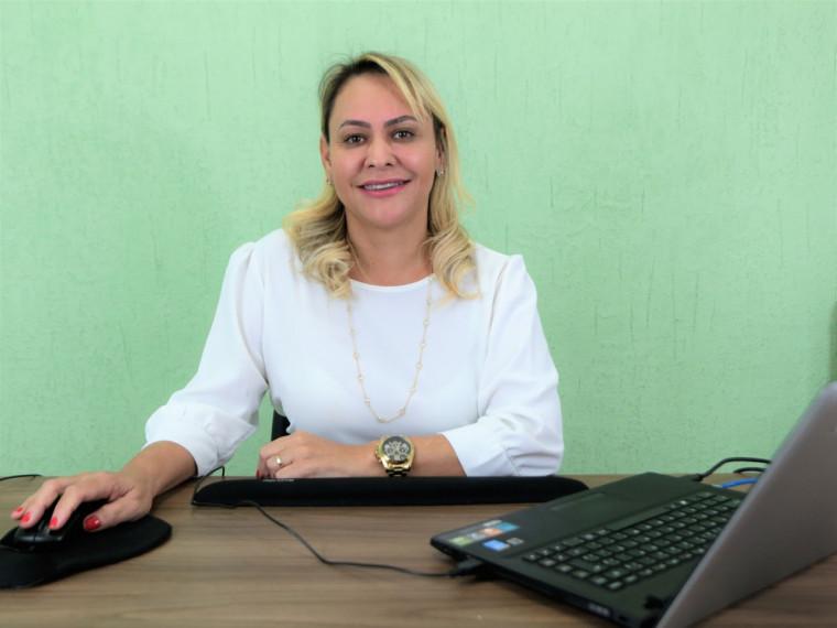 Ela é servidora da Secretaria Municipal da Saúde desde 2014