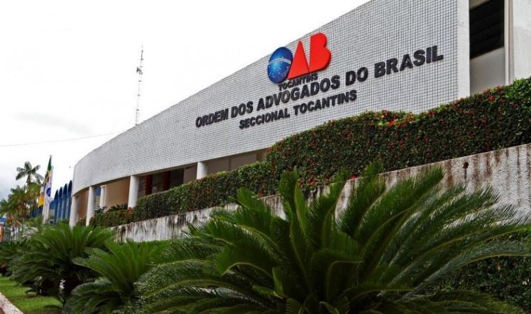 Sede da OAB Tocantins em Palmas