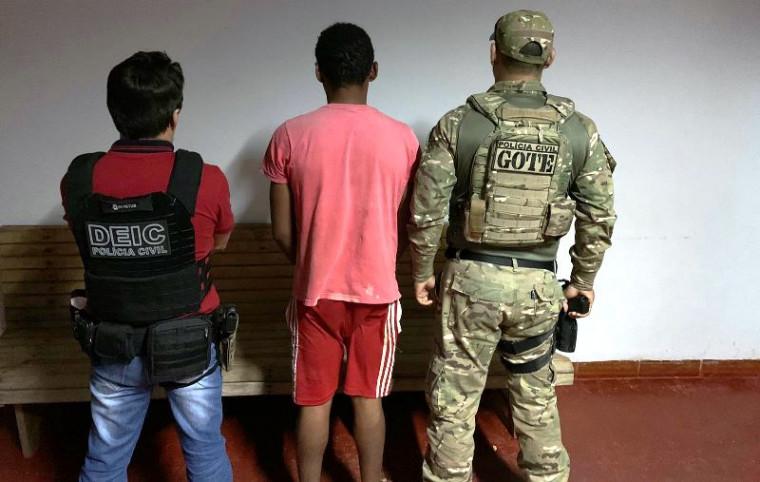 Condenado estava na zona rural de Palmeirópolis