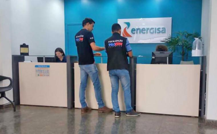 Procon notificando Energisa para cumprir lei que suspendeu cortes de energia