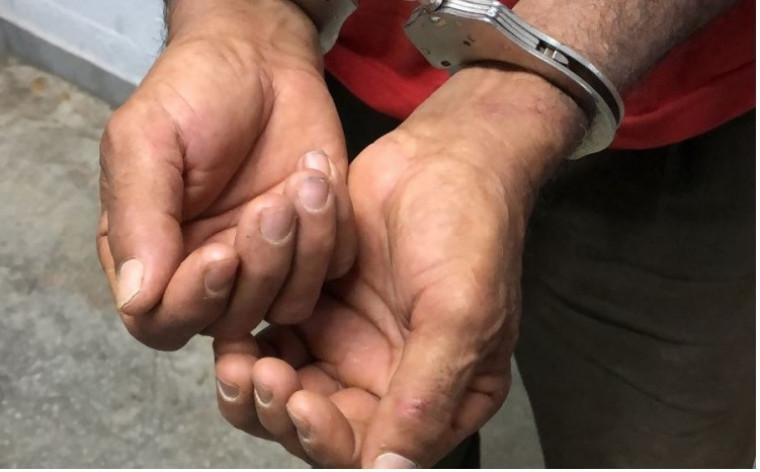 O idoso foi preso na cidade de Paraíso do Tocantins