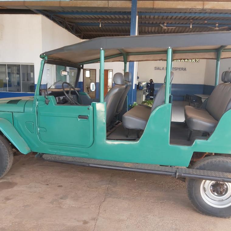 Veículo atualmente usado no Jalapão