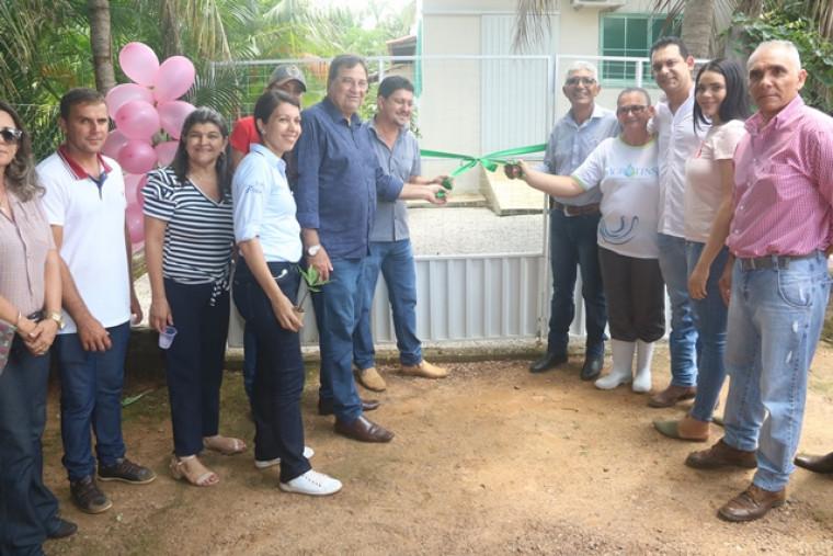Inauguração da mini-indústria em Barrolândia