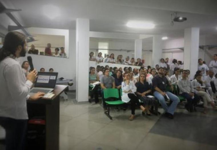 Palestra no HDT de Araguaína