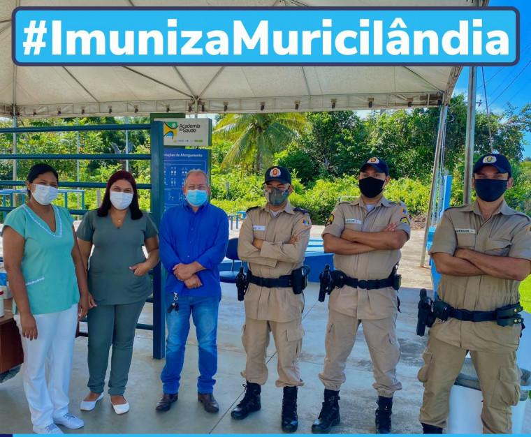 17,38% da população de Muricilândia já foi imunizada contra o coronavírus