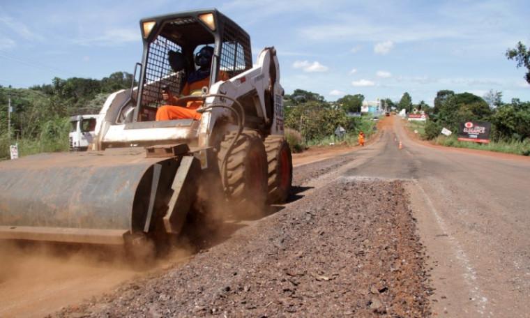 Rodovias sendo reconstruídas