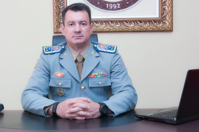 Ex-comandante Reginaldo Leandro da Silva