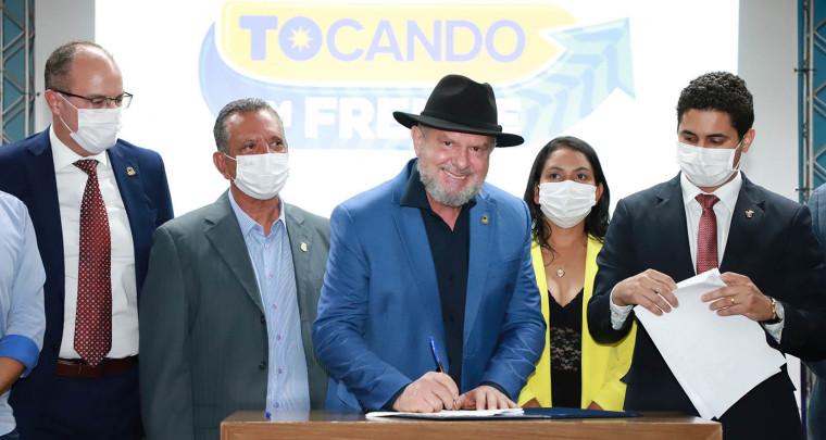 Governador assina Medida Provisória que cria o Refis 2021