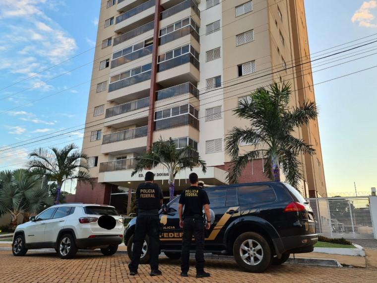 PF cumpre mandados em Palmas e outras cidades do interior