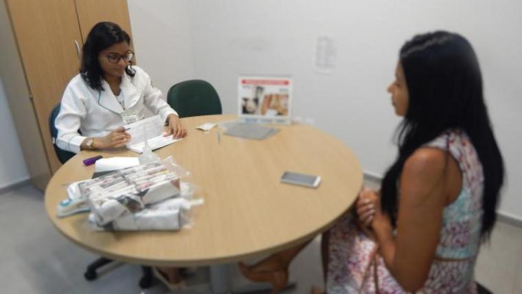 Exames preventivos ofertados na DPE de Araguaína