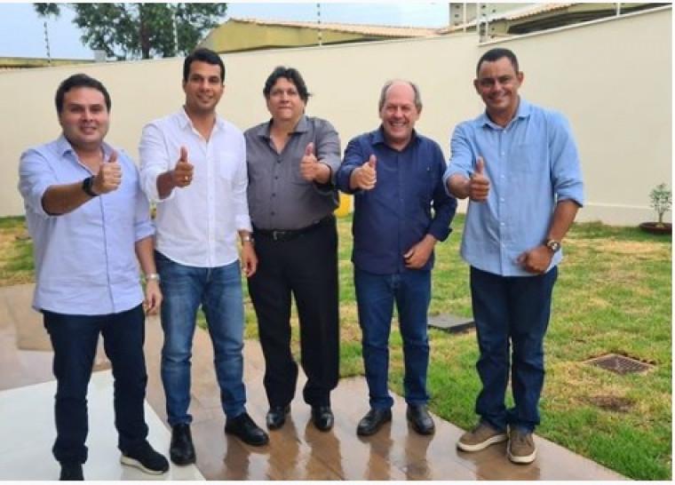 Irajá durante encontro com Dimas em Araguaína
