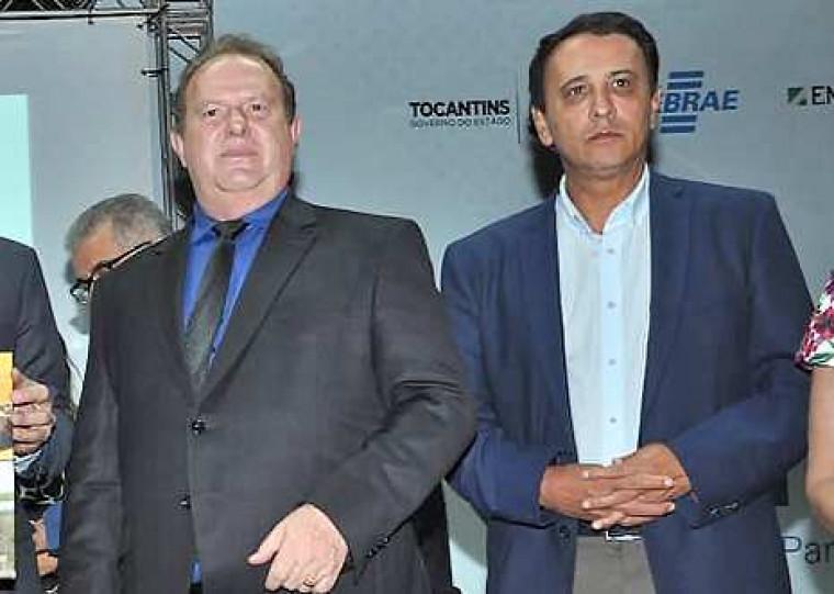 Carlesse e Gaguim são aliados políticos e estão no mesmo partido, o DEM