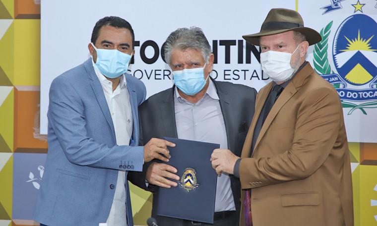 Governador deu posse a dois novos integrantes do 1º escalão