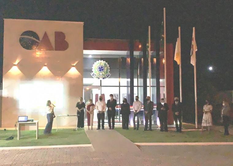 Nova sede da OAB em Araguatins, no Bico do Papagaio