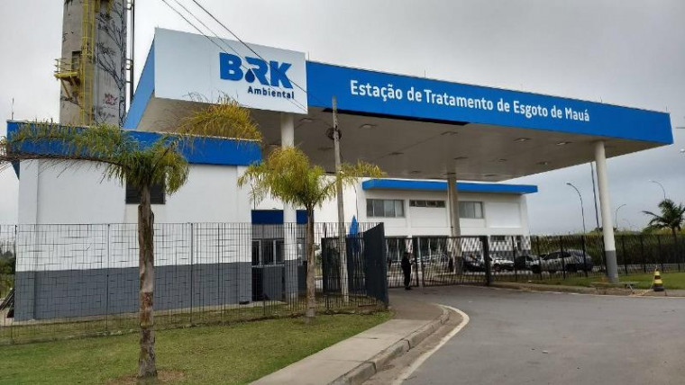 Prédio da empresa de saneamento BRK Ambiental