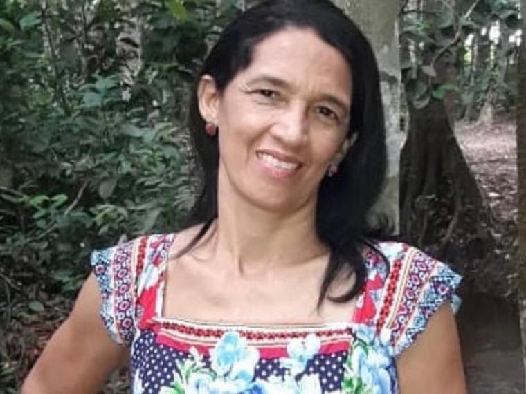 Deuzelia Vieira trabalha na triagem de pacientes suspeitos de covid-19 desde o início da pandemia
