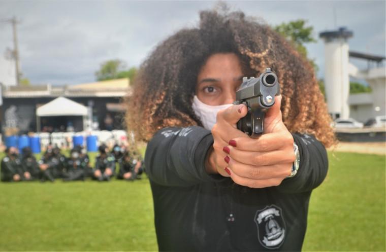 Foram capacitadas 43 mulheres integrantes da Polícia Penal do Tocantins