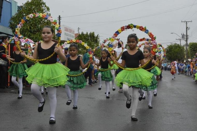 O desfile ocorrerá neste sábado, 07