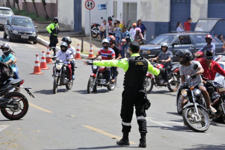 A empresa contratada fornecerá equipamentos para o trânsito de Araguaína