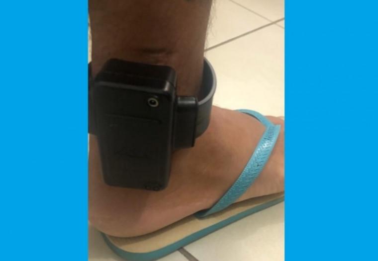 Jovem de 24 usava tornozeleira eletrônica