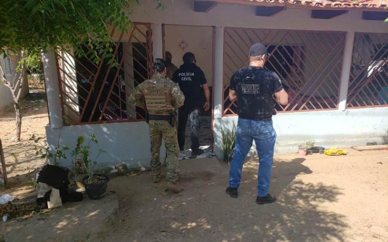 Suspeito foi recolhido na Casa de Prisão Provisória de Araguaína