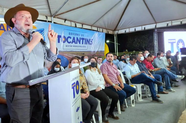 Durante o evento, o governador voltou a afirmar que é candidato a reeleição em 2022