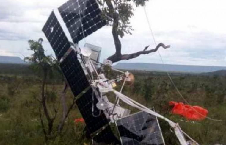 O objeto é um equipamento utilizado para levar internet as áreas mais remotas do planeta