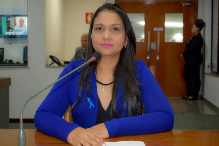 Deputada estadual Vanda Monteiro (PSL-TO)
