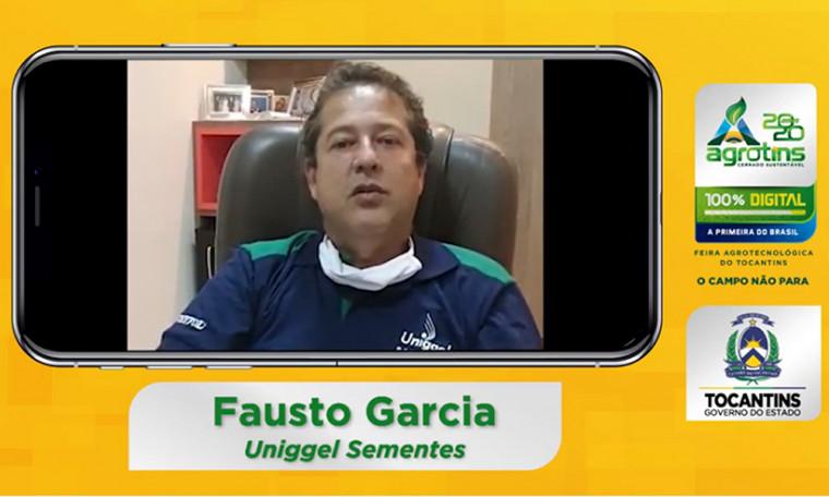 'Parabéns ao Governo por essa inovação', afirma o sócio-proprietário da Sementes, Fausto Garcia