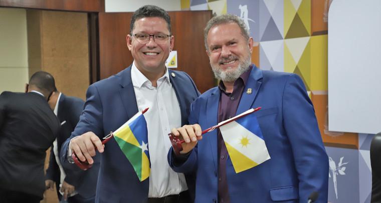 Governadores de Rondônia e Tocantins