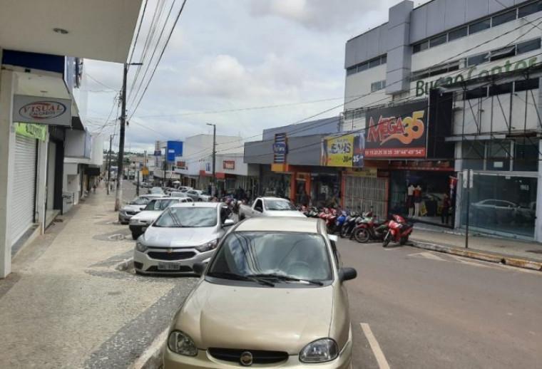 Avenida Cônego João Lima, centro comercial de Araguaína