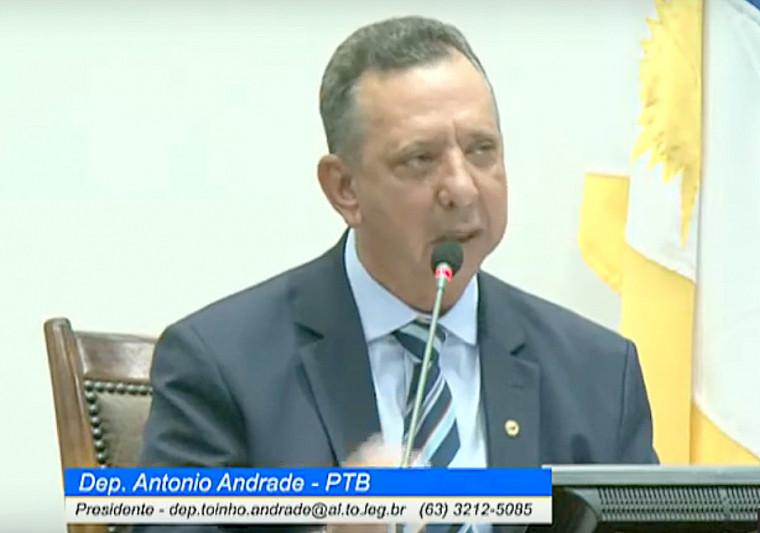 Na abertura dos trabalhos, Andrade prometeu justiça quando for avaliar a Reforma da Previdência