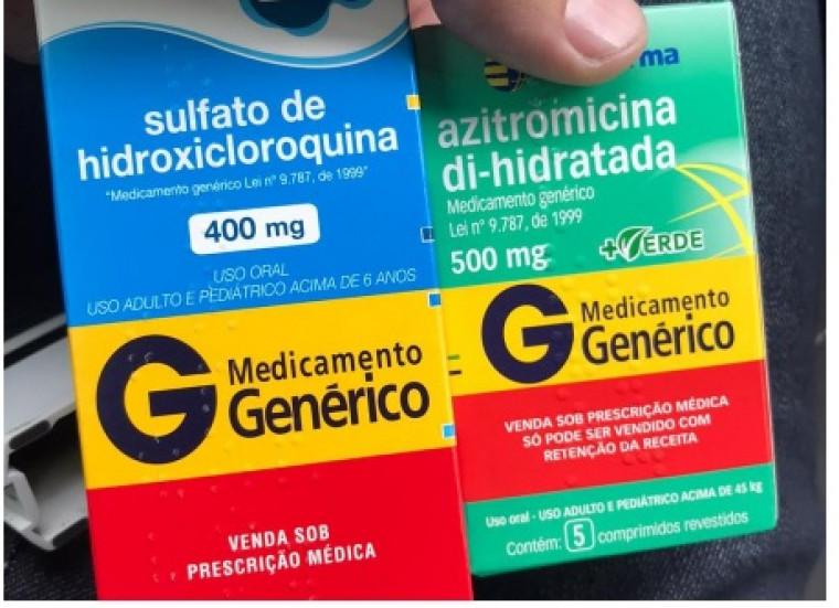 O objetivo é preservar os estoques caso os medicamentos sejam eficientes contra a Covid-19