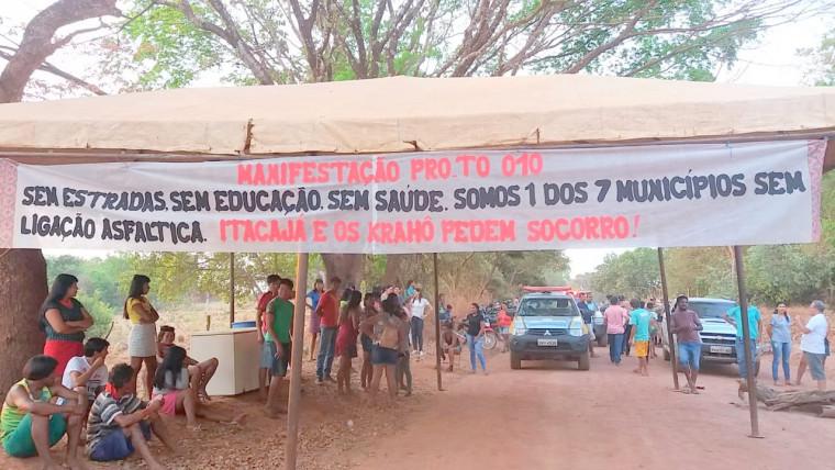 Moradores e indígenas pedem pavimentação das rodovias da região