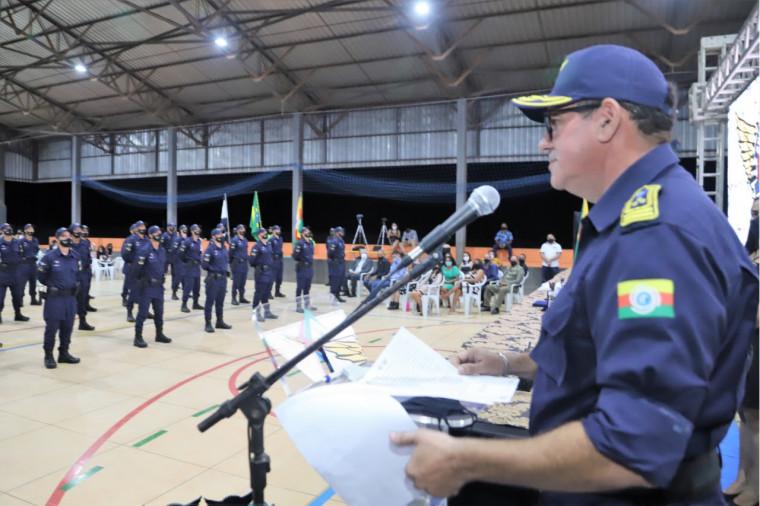 Comandante da Guarda Municipal de Araguaína, Major Sebastião Lima