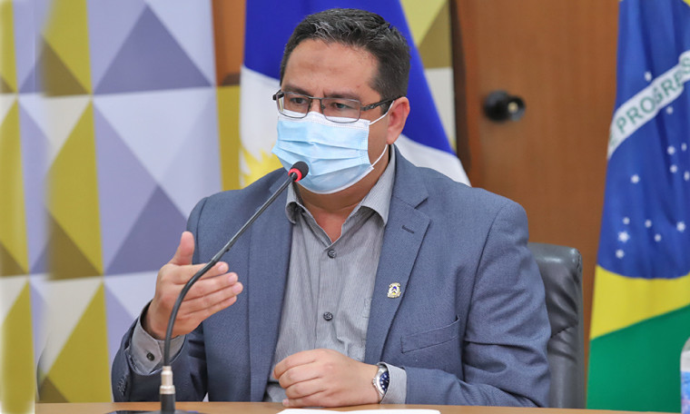 Élcio Mendes é secretário de Estado da Comunicação