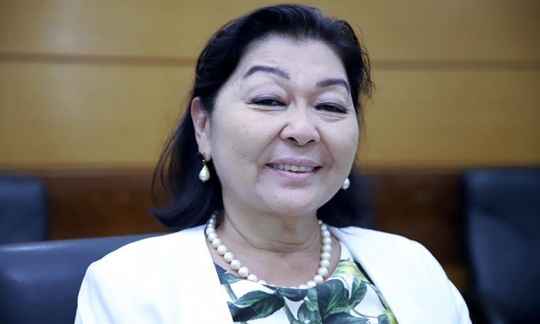 Nova secretária do Meio Ambiente Miyuki Hyashida