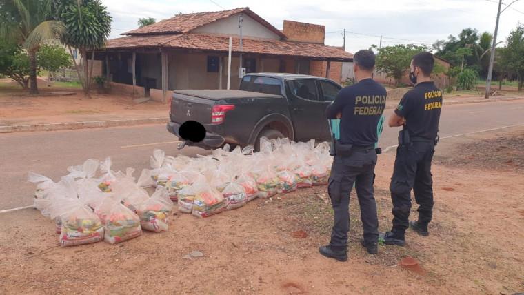 Operação da PF investiga compra de votos com cestas básicas