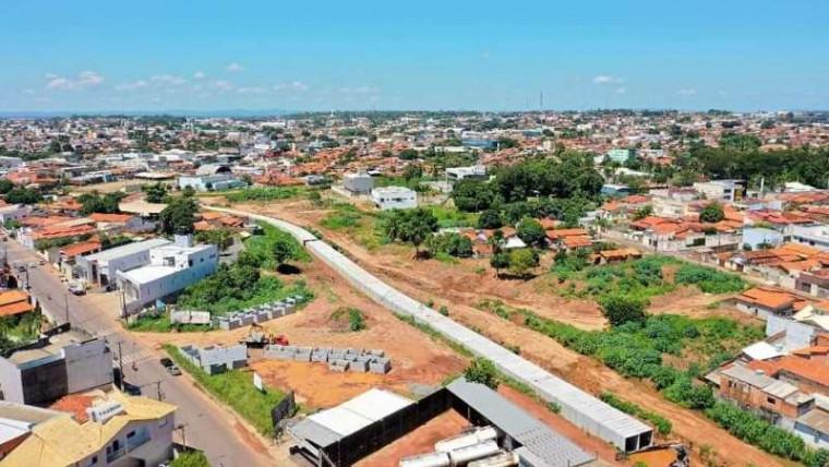 A Via Norte terá ao todo 9 quilômetros de extensão
