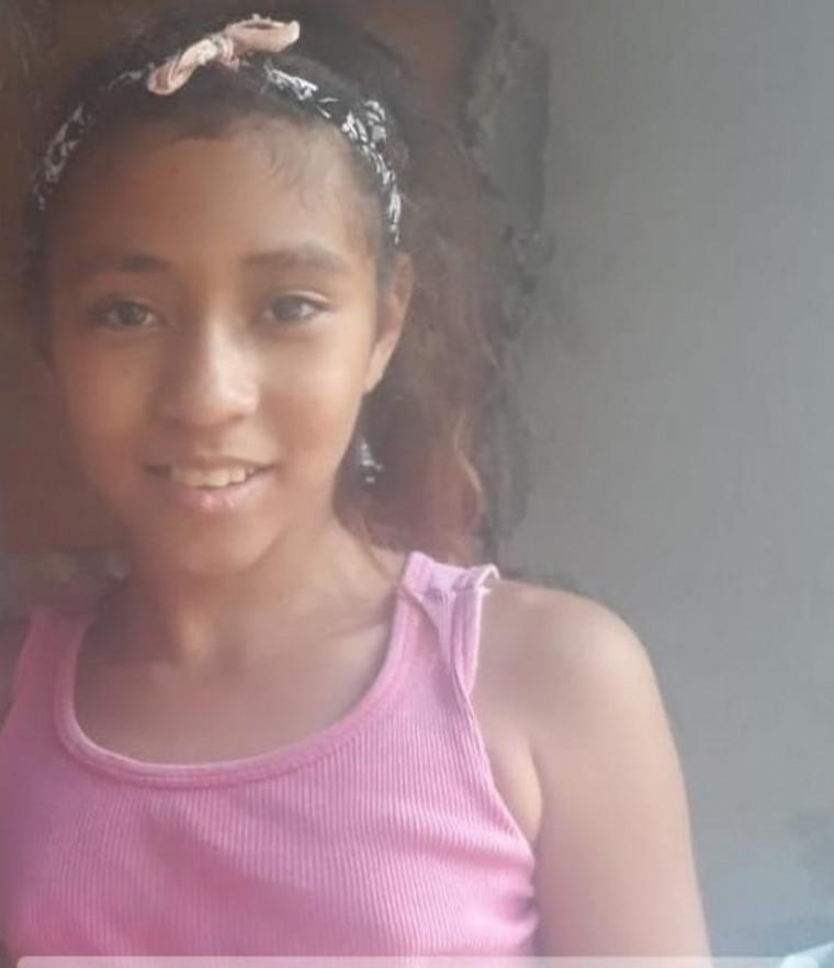 A menina Saphira Ferreira é uma das pessoas desaparecidas no Tocantins