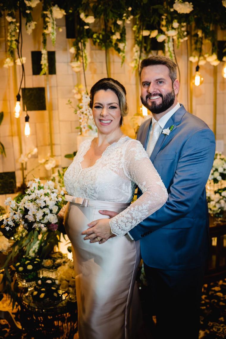 Casamento da prefeita Cinthia Ribeiro com o advogado Eduardo Mantoan
