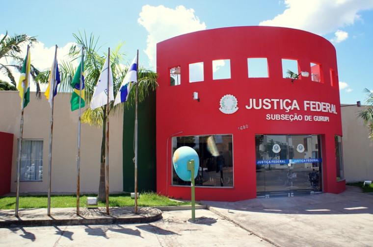 Sede da Justiça Federal em Gurupi, no sul do Tocantins